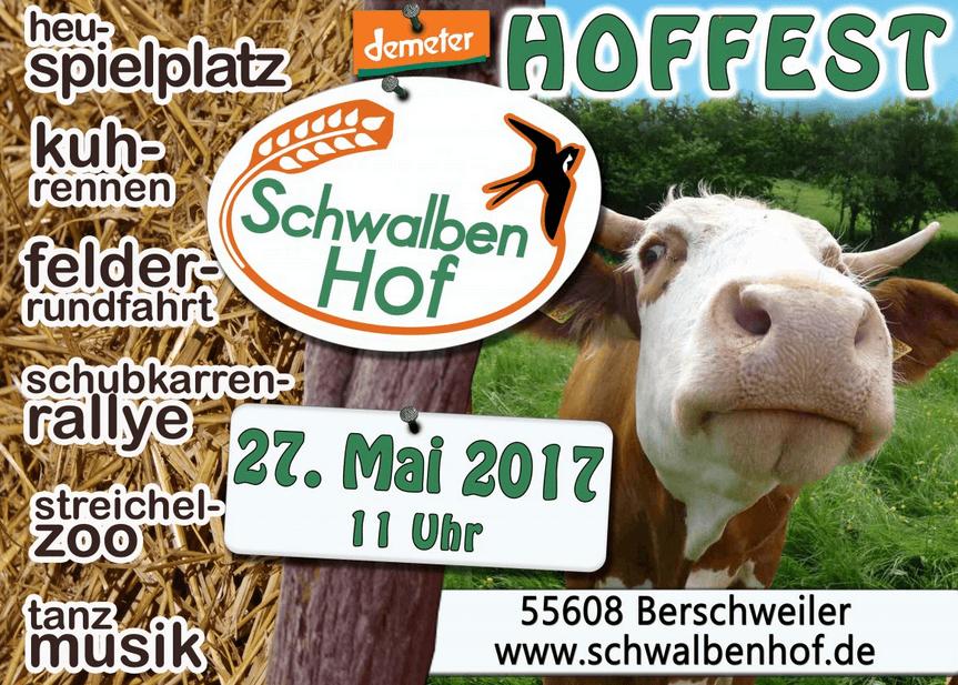 Hoffest auf dem Schwalbenhof, 27. Mai