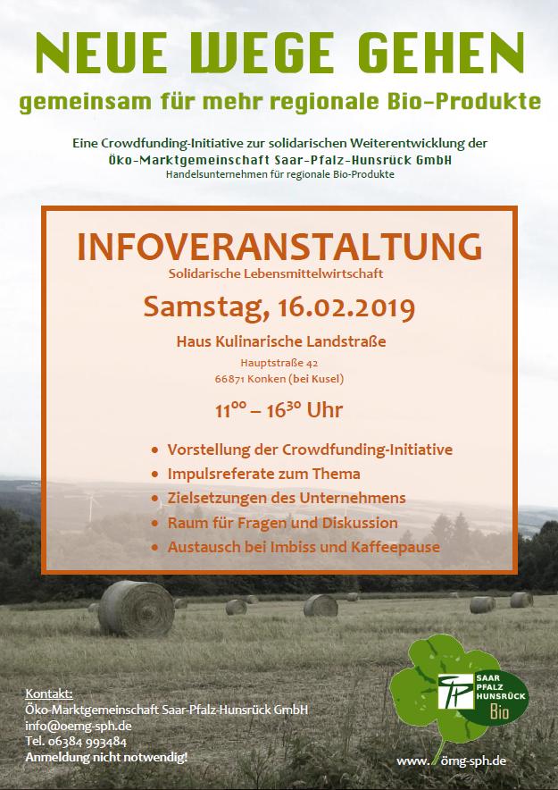 Infoveranstaltung Solidarische Lebensmittelwirtschaft